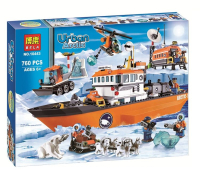 Конструктор Urban Arctic 760 деталей 10443