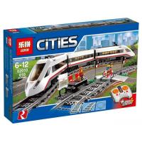 Конструктор CITIES Железная дорога 628 деталей K8012
