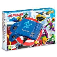 """Игровая приставка Sega """"Hamy SD"""" (166-+650 игр) Blue"""