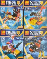Конструктор LELE 32015 Nexo Soldiers 8 шт в блоке