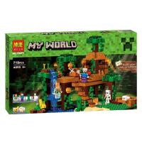 Конструктор Домик на дереве в джунглях 718 деталей (Minecraft BELA 10471)