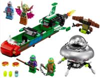 Конструктор Нападение с воздуха 285 деталей (Ninja Turtle BELA 10263)