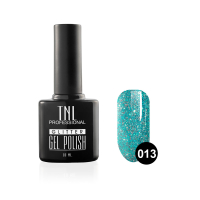 "Гель-лак ""TNL - Glitter"" №13 - Бирюзовый (10 мл.)"