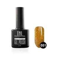 """Гель-лак """"TNL - Glitter"""" №51 - Золото с мелким шиммером (10 мл.)"""
