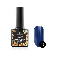 Гель-лак TNL Love autumn №13 - темно-синий (10 мл.)