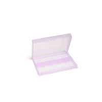 Контейнер для фрез пластиковый (прозрачно-сиреневый)