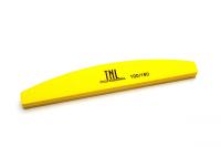 Шлифовщик лодочка 100/180 (желтый) в индивидуальной упаковке