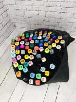 Набор двухсторонних маркеров для скетчинга 80 цветов Touch