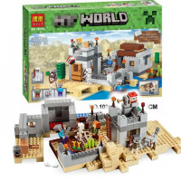 КОНСТРУКТОР MY WORLD (519 ДЕТАЛЕЙ) 10392