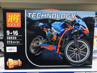 Конструктор Lele 38020 Мотоцикл 375 деталей