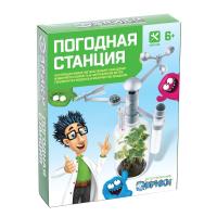 """ЭВРИКИ набор для опытов """"Погодная станция"""" №SL-02037   3818466"""
