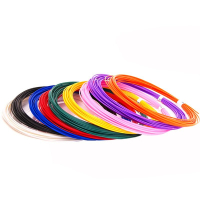 UNID Набор пластика для 3D ручек: PLA-9 (по 10м. 9 цветов в коробке)