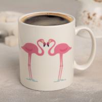 "Кружка-хамелеон ""Фламинго"" 320 мл, 11,8x8x9,5 см   4721627"