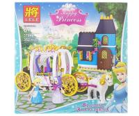 Конструктор LELE Happy Princess 352 детали 37046