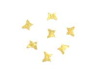 "Дизайн золотистый металл ""TNL"" - Бабочки малые (20 шт/уп)"