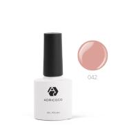 Цветной гель-лак ADRICOCO №042 сливочная карамель (8 мл.)