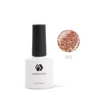 Цветной гель-лак ADRICOCO №065 мерцающий бронзовый (8 мл.)