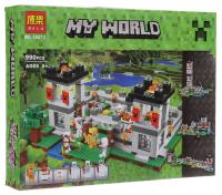 Конструктор Bela My World 10472 990 деталей