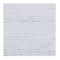 Фотофон «Кирпич белый», 45 ? 45 см, переплётный картон, 980 г/м
