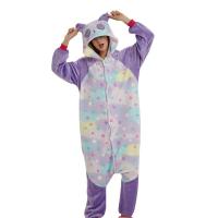 Кигуруми Панда фиолетовая со звездами