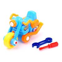 """Конструктор для малышей """"Мотоцикл"""", 22 детали цвета:МИКС 2264134"""