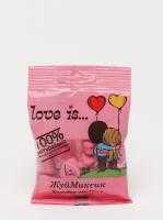 Мармелад Love is жевательный 24 пакетика в блоке в ассортименте