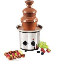 Шоколадный фонтан-фондю Chocolate Fondue Fountain KEYA (3 яруса)