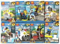 Конструктор LELE Cities 16 шт в блоке 28019