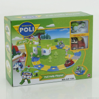 Робокары Гараж Poli Helly Playset XZ-195