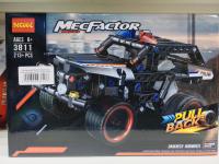 Конструктор DECOOL MecFactor Гоночная машина 213+ деталей 3811