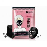 Увлажняющая тканевая маска для лица с муцином улитки и бамбуковым углем RorecNO.HC4854