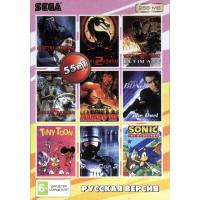 Картридж для Sega 55 в 1 RU-25603