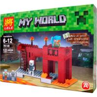 Конструктор Lele Minecraft 79149 123 детали