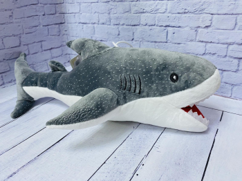 Мягкая игрушка Акула 40 см