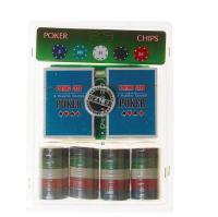 Покерный набор 100 фишек на блистере