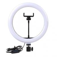 Кольцевая светодиодная LED лампа с держателем 33 см БЕЗ ШТАТИВА