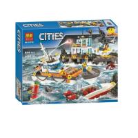 Конструктор BELA Cities 10755 844 детали
