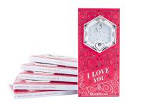 !!!Шоколад молочный «I Love You» (с подвеской) 90 г