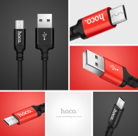 Кабель Hoco X14 Times speed micro charging cable (L=1M)