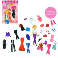 """HAPPY VALLEY Магнитная кукла с одеждой """"Элис. Топ-модель"""" 16 х 25 см   3298638"""