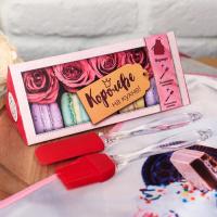 """Подарочный набор """"Королеве на кухне"""" фартук, силиконовые лопатки   3613217"""
