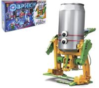 """ЭВРИКИ Набор для опытов """"Робот"""", 6 в 1, работает от солнечной батареи № SL-0042 1250593"""
