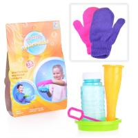1Toy Прыгунцы, эластичные мыльные пузыри, 2 варежки, ёмкость для раств., рожок, палочка д/пузырей, 8