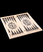 Игра 2 в 1 (шашки, нарды) большая Орнамент (103-13)