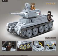 Конструктор Quan Guan Военная техника 100084 462 детали
