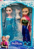 Холодное сердце Набор 2 кукол и снеговик YX013A2