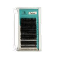 Ресницы на ленте TNL силиконовые 0,07 (в упаковке № 7,8,9,10,11,12) D-изгиб