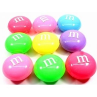 Лизун M&Ms цветной 12 шт в блоке