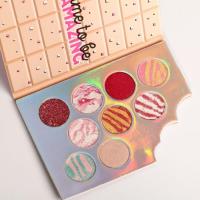 Палетка теней для век Llamazing Chocolate, 9 потрясающих оттенков 4827887