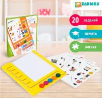 """ZABIAKA Логический планшет """"Умный планшет"""" с карточками, 4-5 лет SL-02717   4357249"""